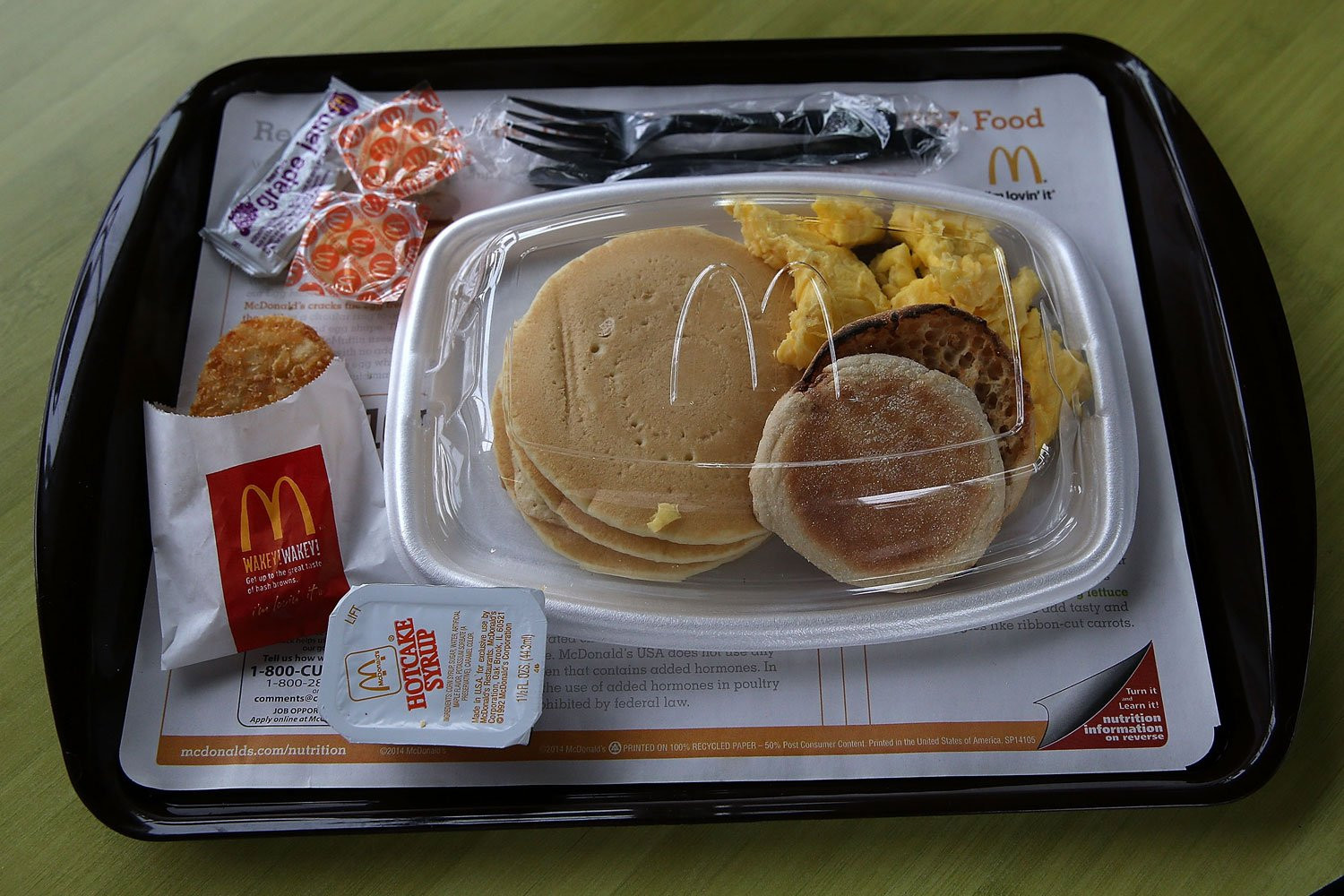 Healthy Fast Food Breakfast Mcdonalds  McDonald s faces backlash after removing Big Breakfast