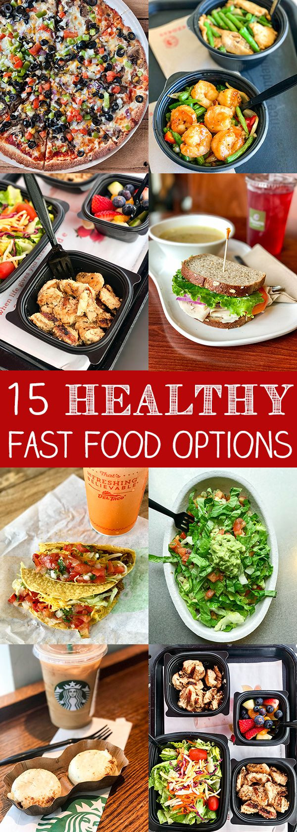 Healthy Fast Food Breakfast  15 Healthy Fast Food Options