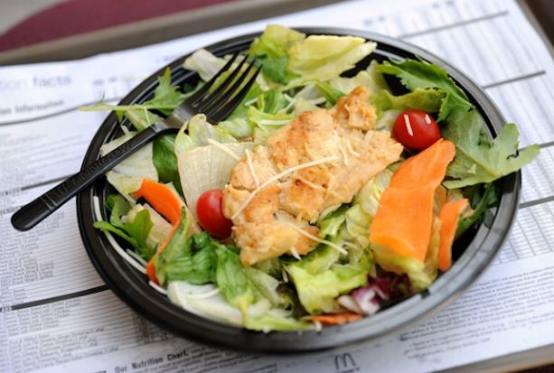 Healthy Fast Food Salads  Fast Food Salads ten Unhealthy · Guardian Liberty Voice