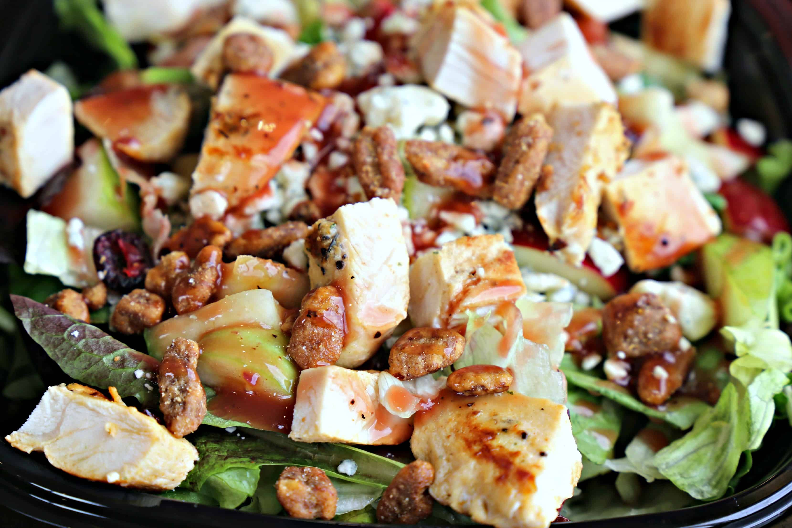 Healthy Fast Food Salads  Healthy Fast Food Options Wendy s Salads