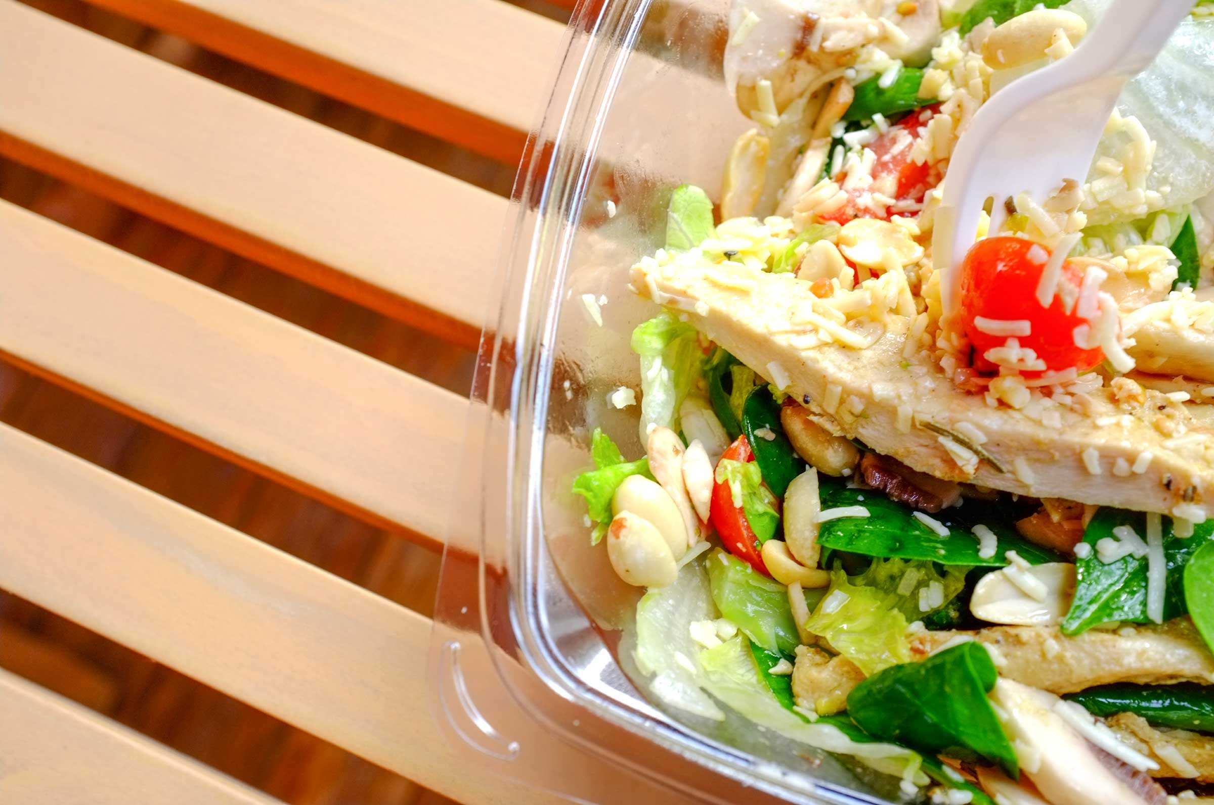 Healthy Fast Food Salads  Healthy Eating Tips Habits to Start