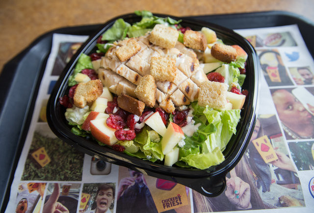 Healthy Fast Food Salads  Best Fast Food Salads Healthy Fast Food