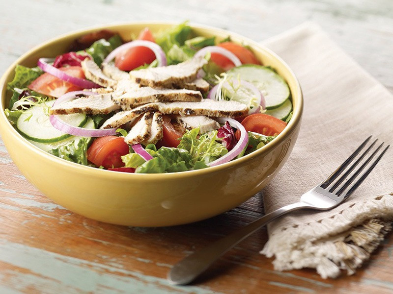Healthy Fast Food Salads  Fast Food Salads Diet xoderoj over blog