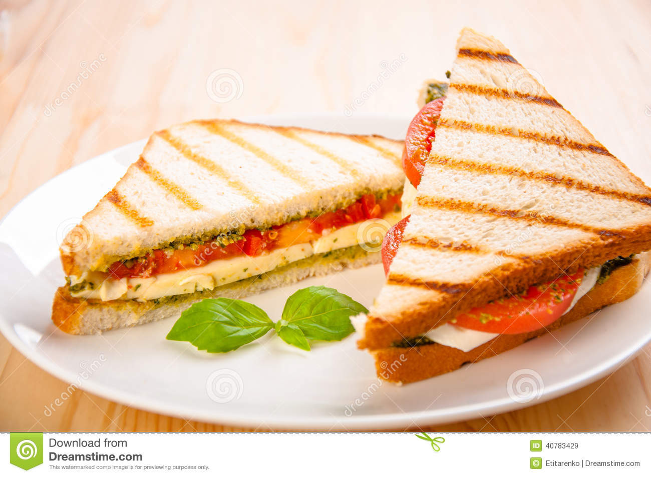 Healthy Fast Food Snacks  Bread Sandwich With Cheese Tomato Healthy Ve arian