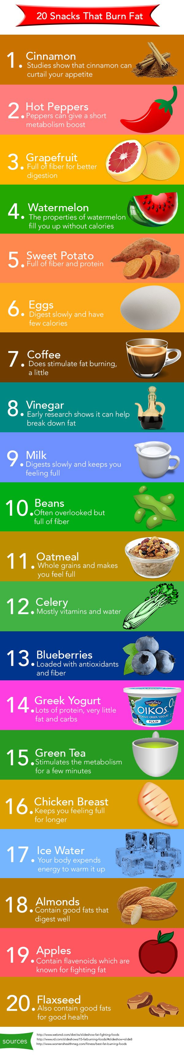 Healthy Fat Burning Snacks  20 fat burning snacks The Todd and Erin Favorite Five