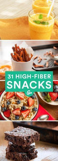 Healthy Fiber Snacks  25 best ideas about High Fiber Snacks on Pinterest