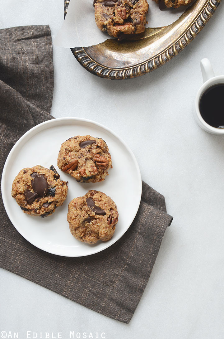 Healthy Fig Recipes  Healthy Fig and Pecan Breakfast Cookies Recipe Gluten Free