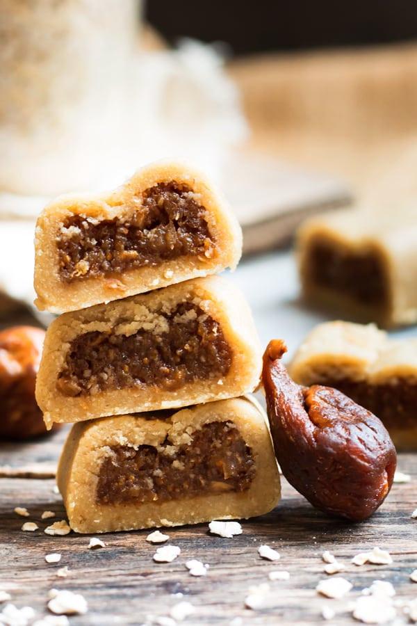 Healthy Fig Recipes  No Bake Healthy Gluten Free Fig Newtons
