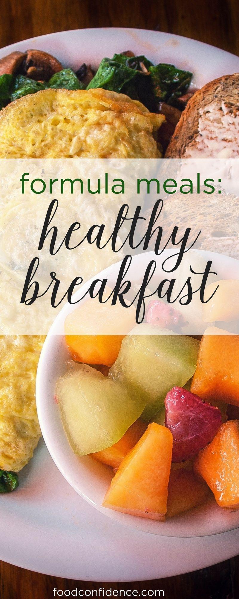 Healthy Filling Breakfast  Formula Meals Healthy Breakfast