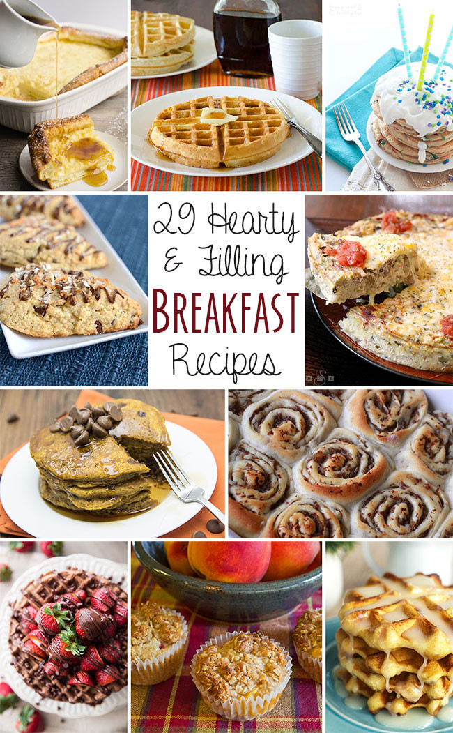 Healthy Filling Breakfast  Peach and Oatmeal Muffins 28 Hearty and Filling
