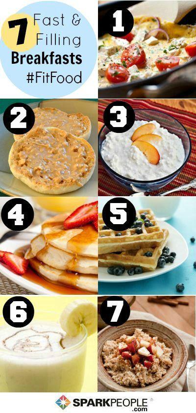 Healthy Filling Breakfast  186 best images about Meals Breakfast on Pinterest