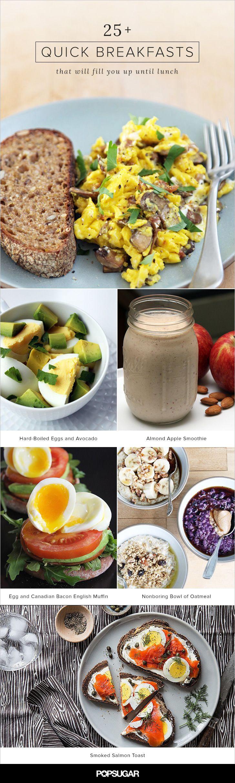 Healthy Filling Breakfast  Best 25 Healthy filling breakfast ideas on Pinterest