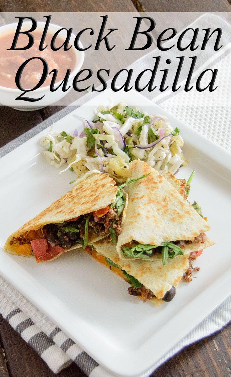 Healthy Filling Dinners  Black Bean Quesadilla Recipe – Healthy Filling Weeknight