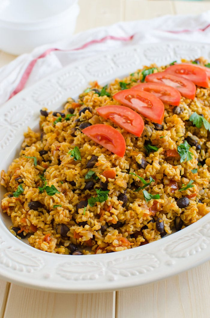 Healthy Filling Dinners  Mexican Brown Rice Recipe A e Pot Healthy Meal