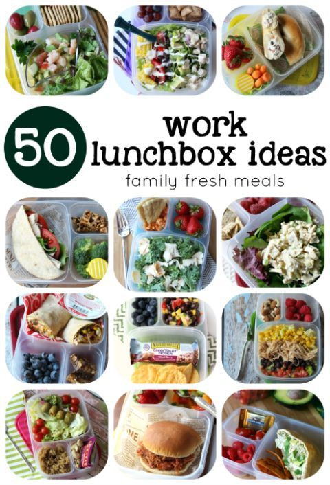 Healthy Filling Lunches For Work  Over 50 Healthy Work Lunchbox Ideas