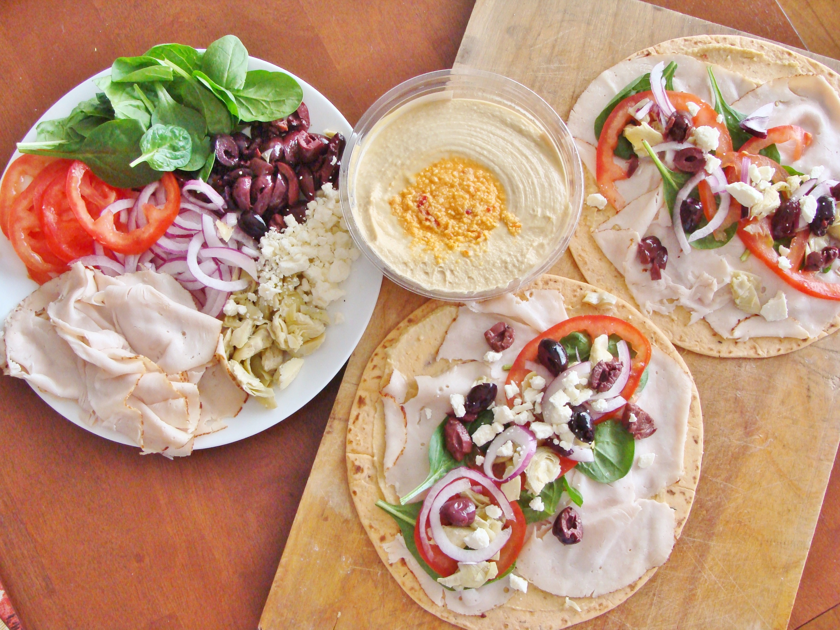 Healthy Filling Lunches For Work  lunch wraps
