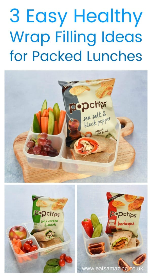 Healthy Filling Lunches For Work  3 Healthy Wrap Filling Ideas for Packed Lunches
