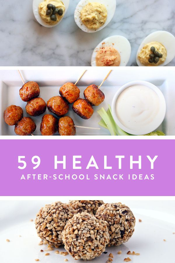 Healthy Filling Snacks  Healthy After School Snack Ideas