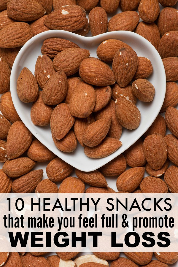 Healthy Filling Snacks  10 healthy filling snacks that promote weight loss