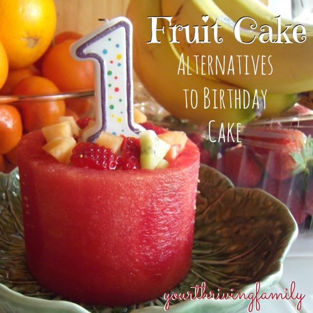 Healthy First Birthday Cake Alternatives  A New Kind of Fruit Cake and healthy alternatives for
