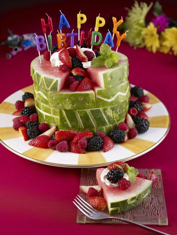 Healthy First Birthday Cake Alternatives  25 best ideas about Watermelon birthday cakes on