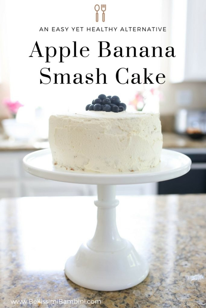 Healthy First Birthday Cake Alternatives  Banana Apple Cake Recipe A Healthy Approach for Baby s