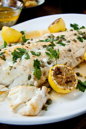 Healthy Fish Dinner Recipes  Baked Fish with Lemon Garlic Butter Sauce – Best Healthy