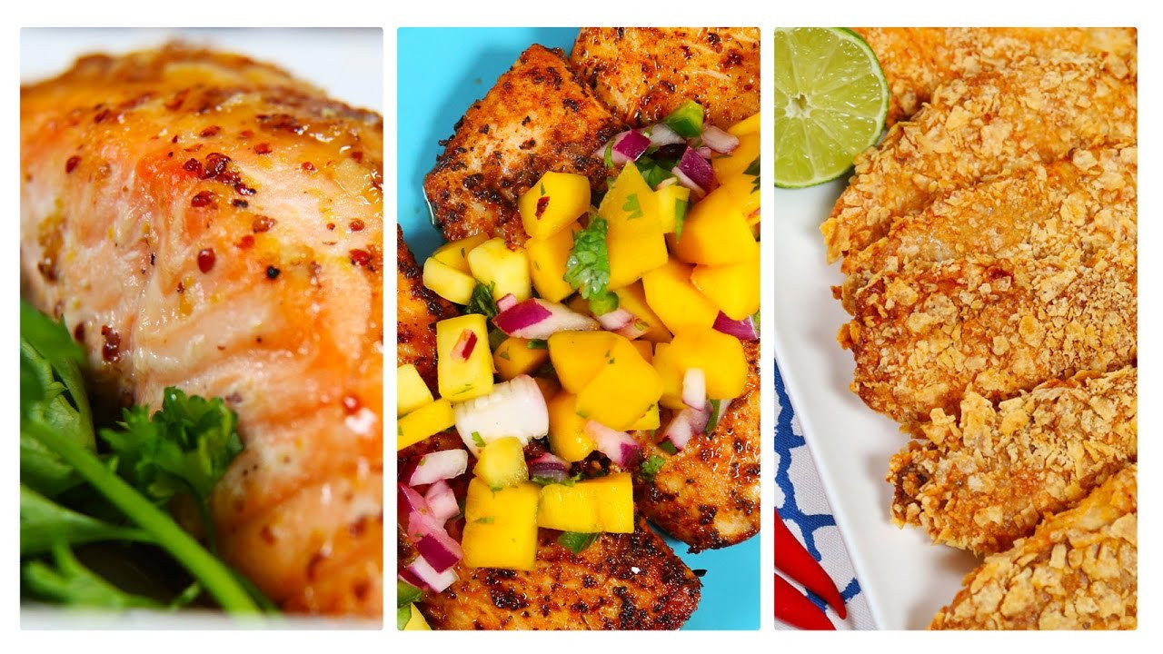 Healthy Fish Dinner Recipes  Diets Plans & Healthy Food 3 Healthy Fish Recipes