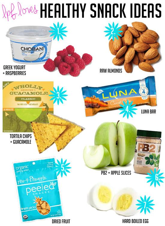 Healthy Fitness Snacks  La Petite Fashionista Fitness Healthy Snacks for Busy Girls