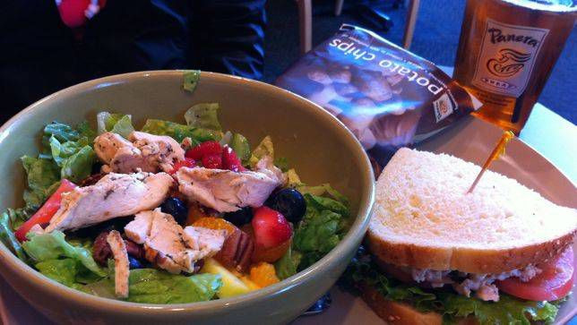 Healthy Food At Panera Bread  Panera Bread makes a change to clean and simple food