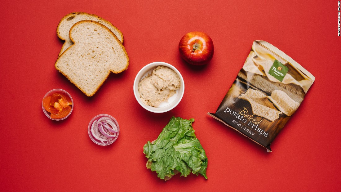 Healthy Food At Panera Bread  Panera Bread s menu as curated by a nutritionist CNN