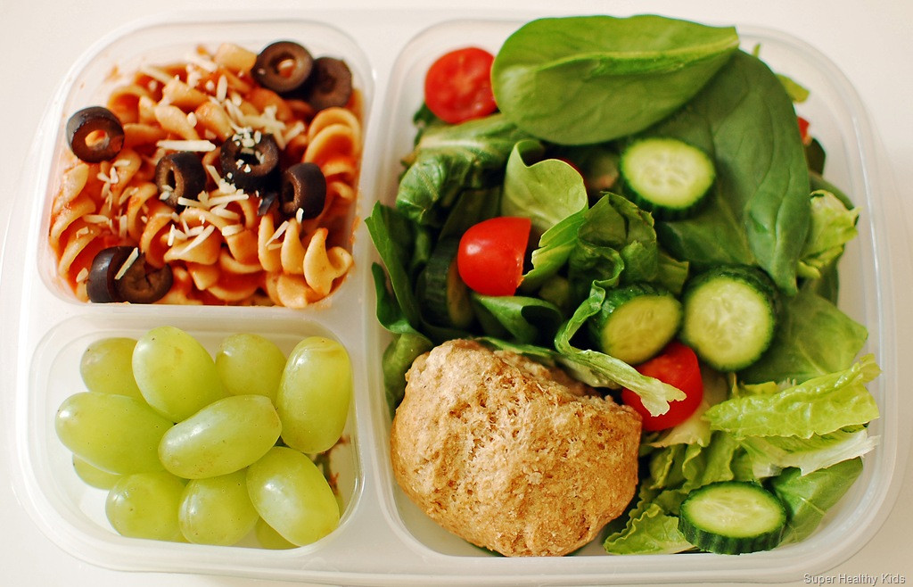 Healthy Food For School Lunches  Italian Lunch the Healthy Way