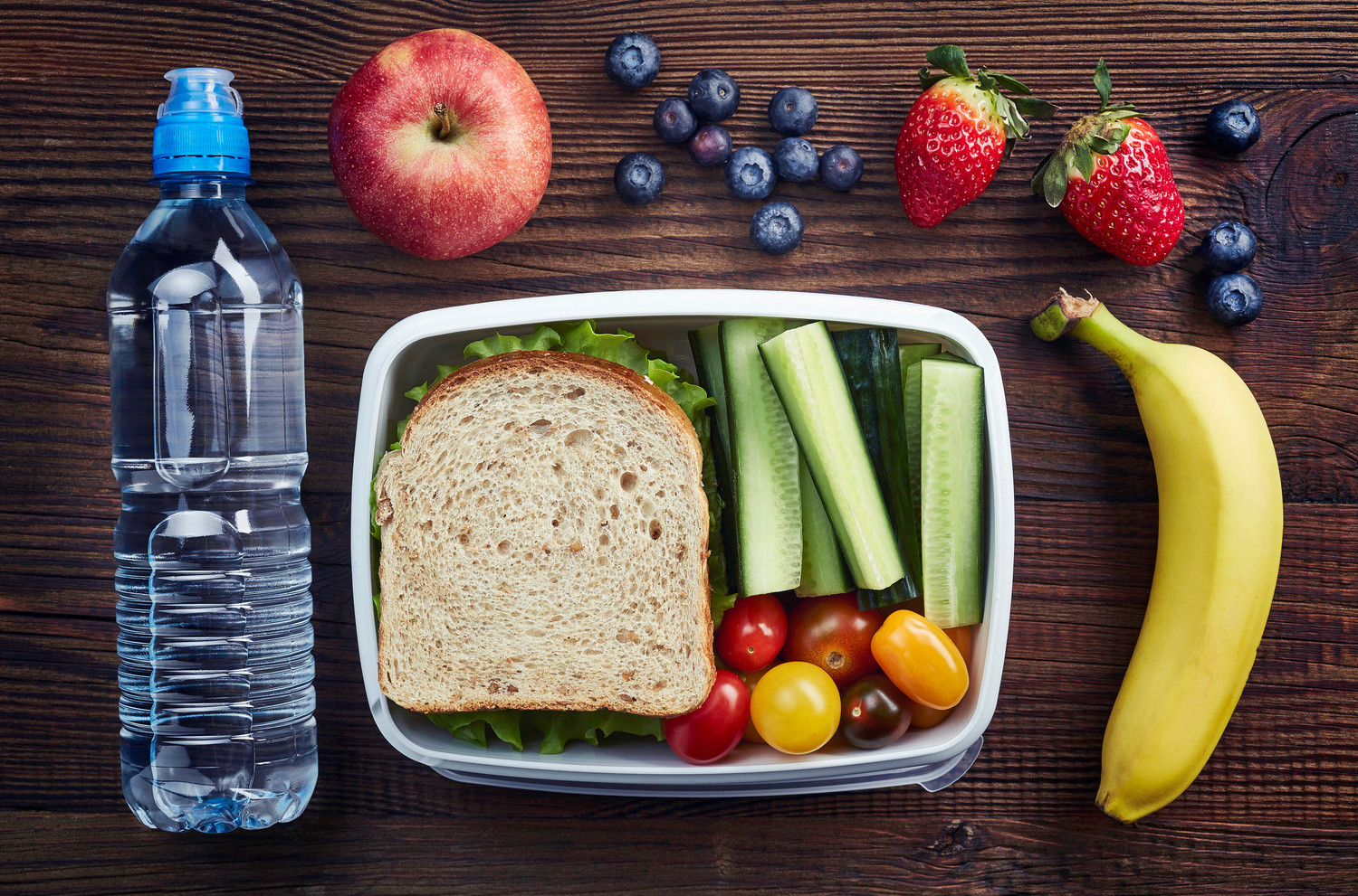 Healthy Food For School Lunches  Ways for Parents to Improve Their Children's School