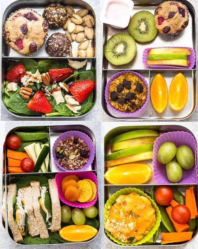 Healthy Food For School Lunches  6 Healthy School Lunches