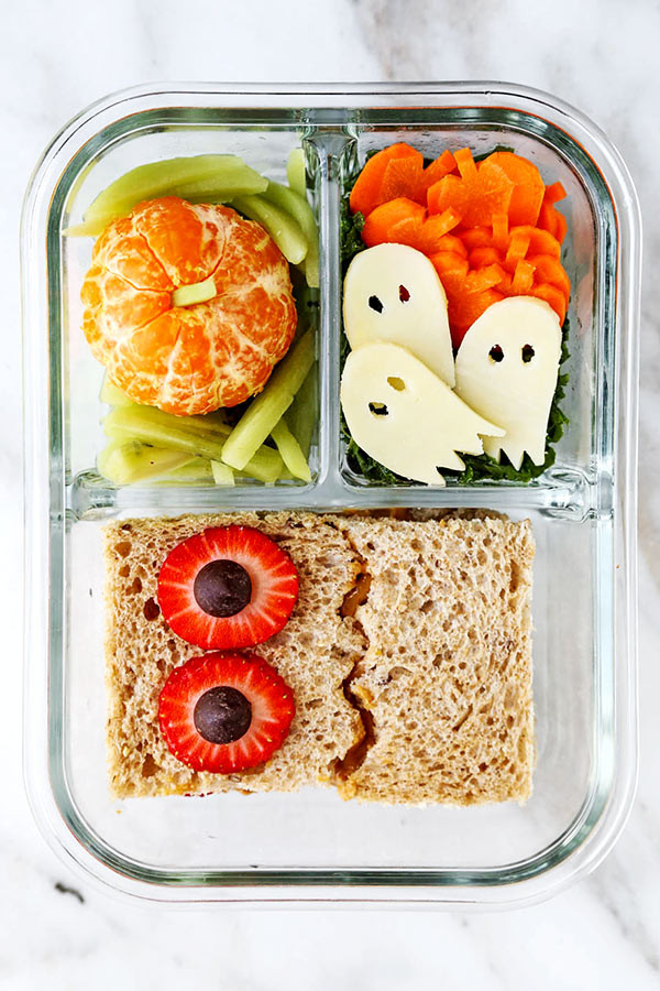Healthy Food For School Lunches  Healthy Halloween School Lunch Pickled Plum Food And Drinks