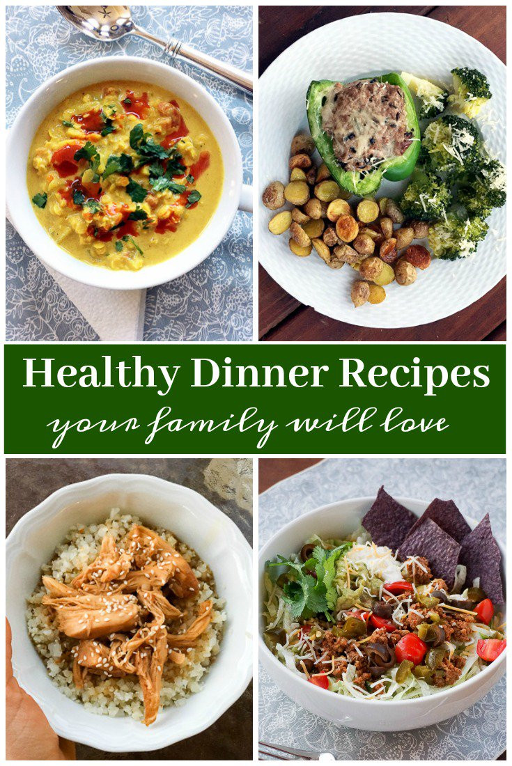 Healthy Food Recipes For Dinner  Healthy Dinner Ideas and Recipes Your Family Will Love