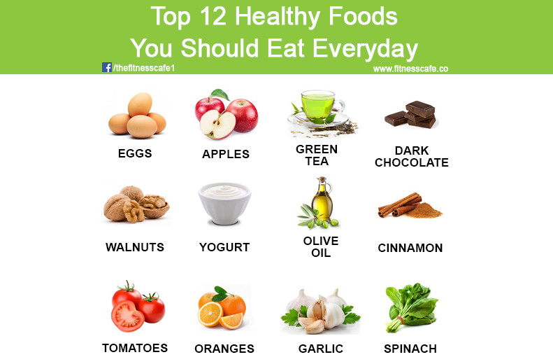 Healthy Food To Eat For Breakfast  Top 12 Healthy Foods You Should Eat Everyday The Fitness