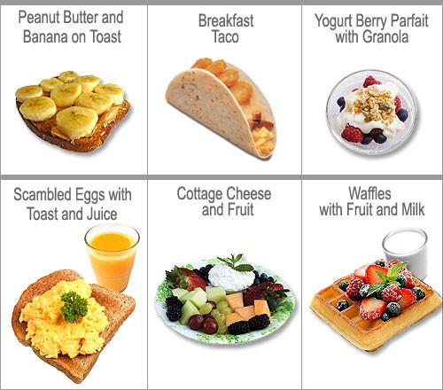 Healthy Food To Eat For Breakfast  Breakfast