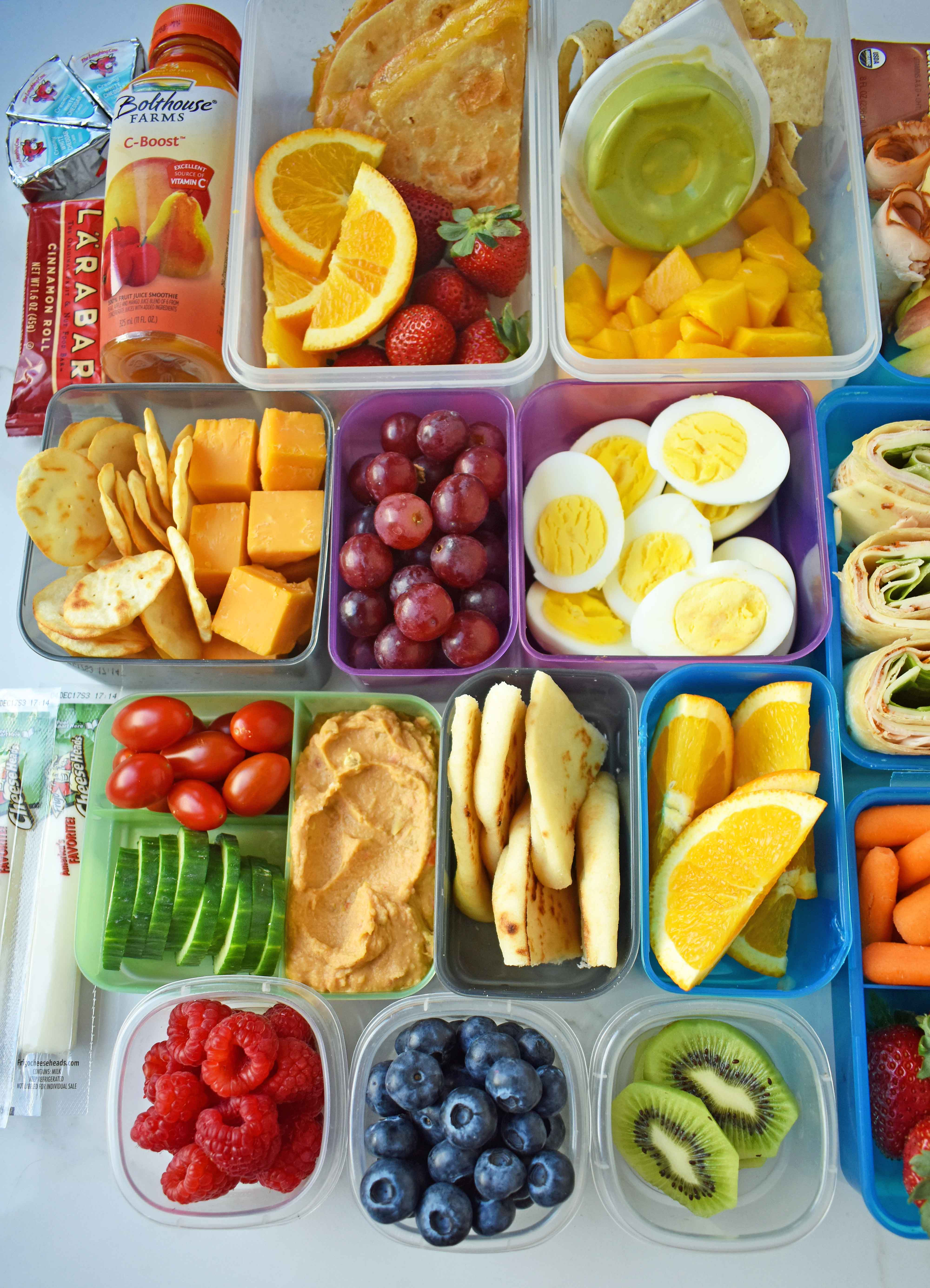 Healthy Foods For Kids' School Lunches  Back to School Kids Lunch Ideas – Modern Honey