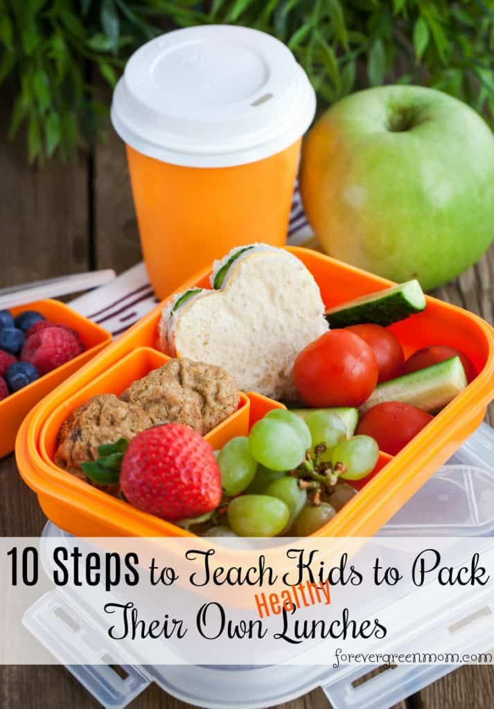 Healthy Foods For Kids' School Lunches  How to teach kids to make their own healthy school lunches