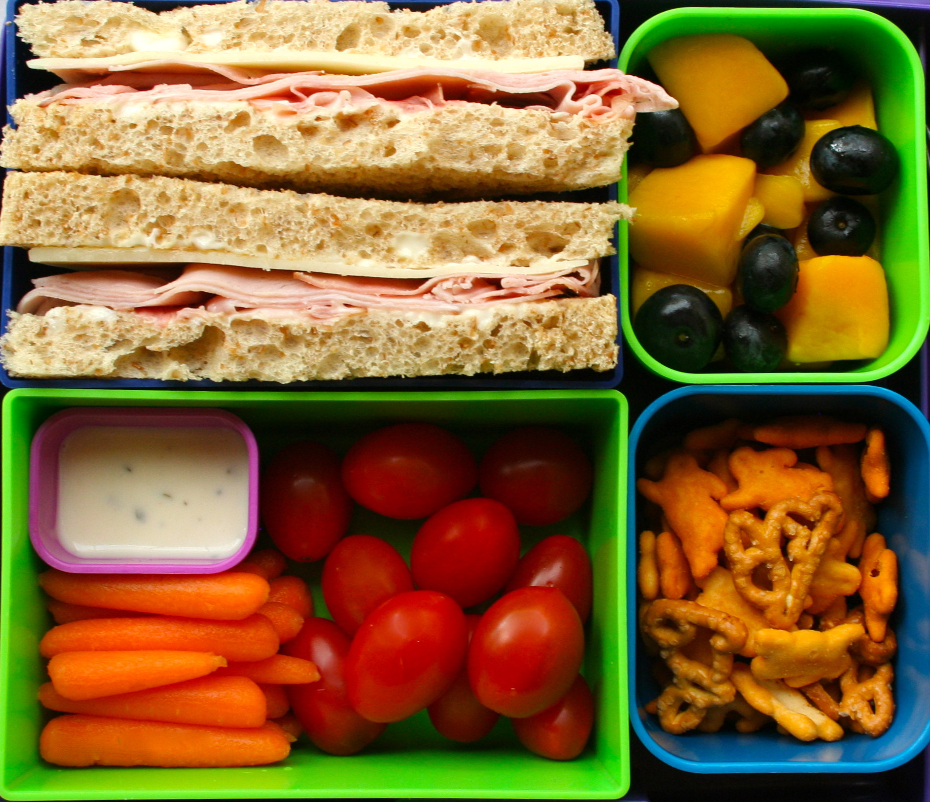 Healthy Foods For Kids' School Lunches  Top 3 healthy lunches