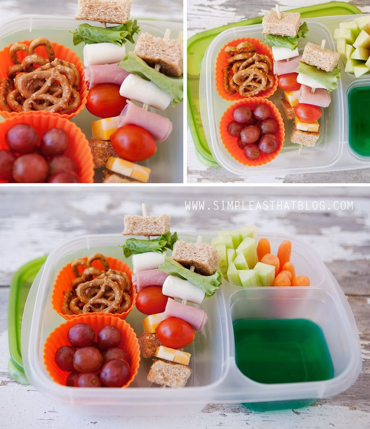 Healthy Foods For Kids' School Lunches  best Easy Lunch Box Lunches images on Pinterest