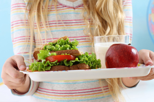 Healthy Foods For Kids' School Lunches  School lunch makeovers go beyond Jamie Oliver