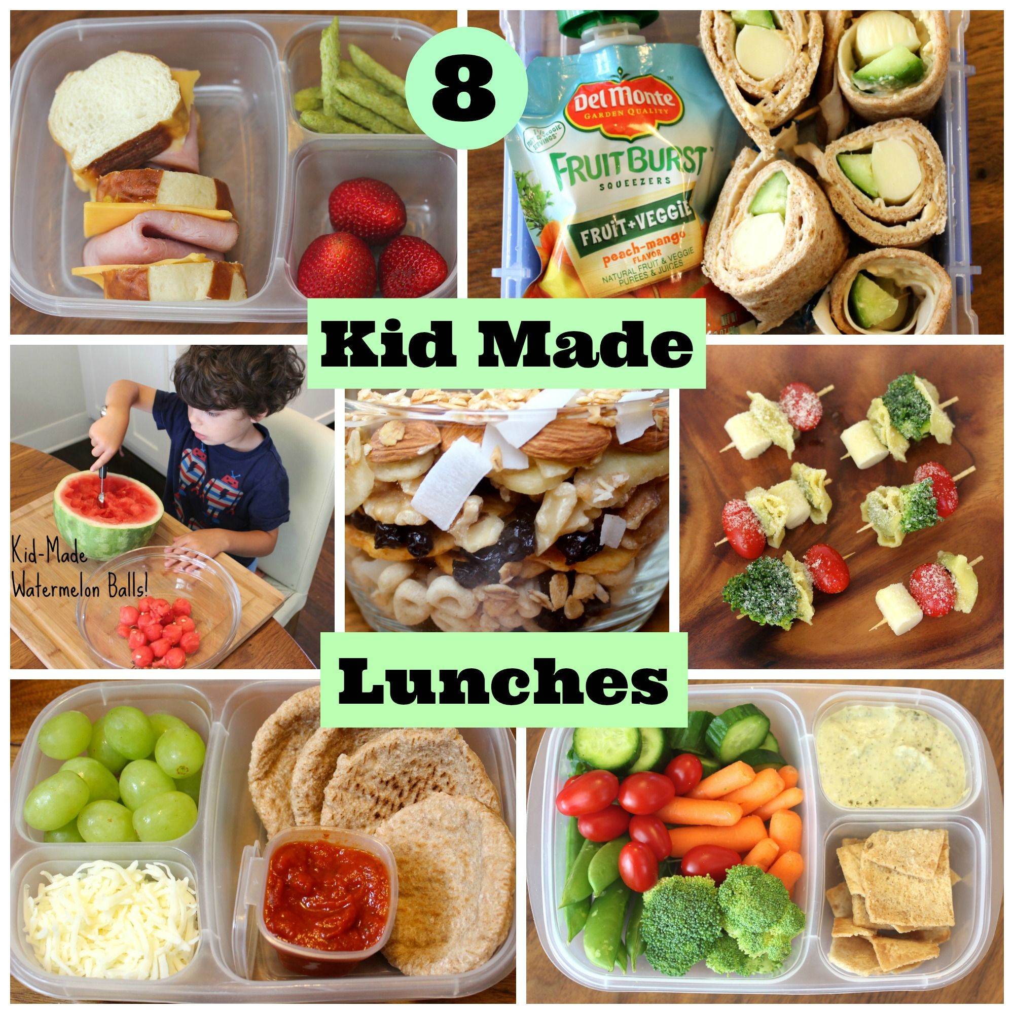 Healthy Foods For Kids' School Lunches  4 Healthy School Lunches Your Kids Can Make Themselves