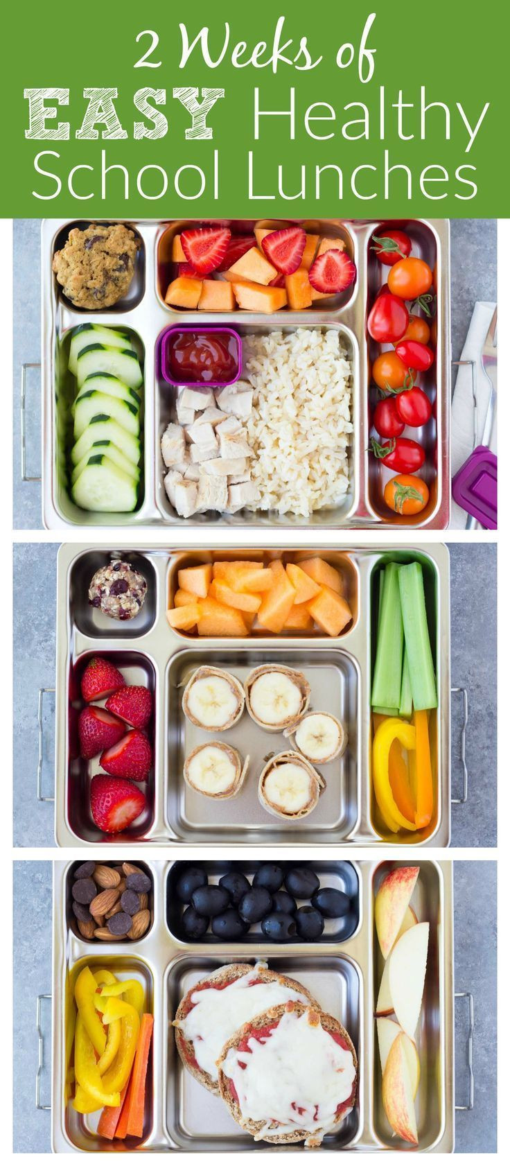 Healthy Foods For Kids' School Lunches  747 best images about Lunch Box Ideas on Pinterest