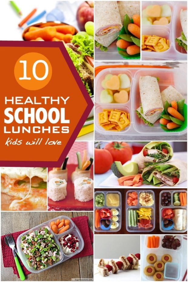 Healthy Foods For Kids' School Lunches  10 Healthy School Lunch Ideas Spaceships and Laser Beams