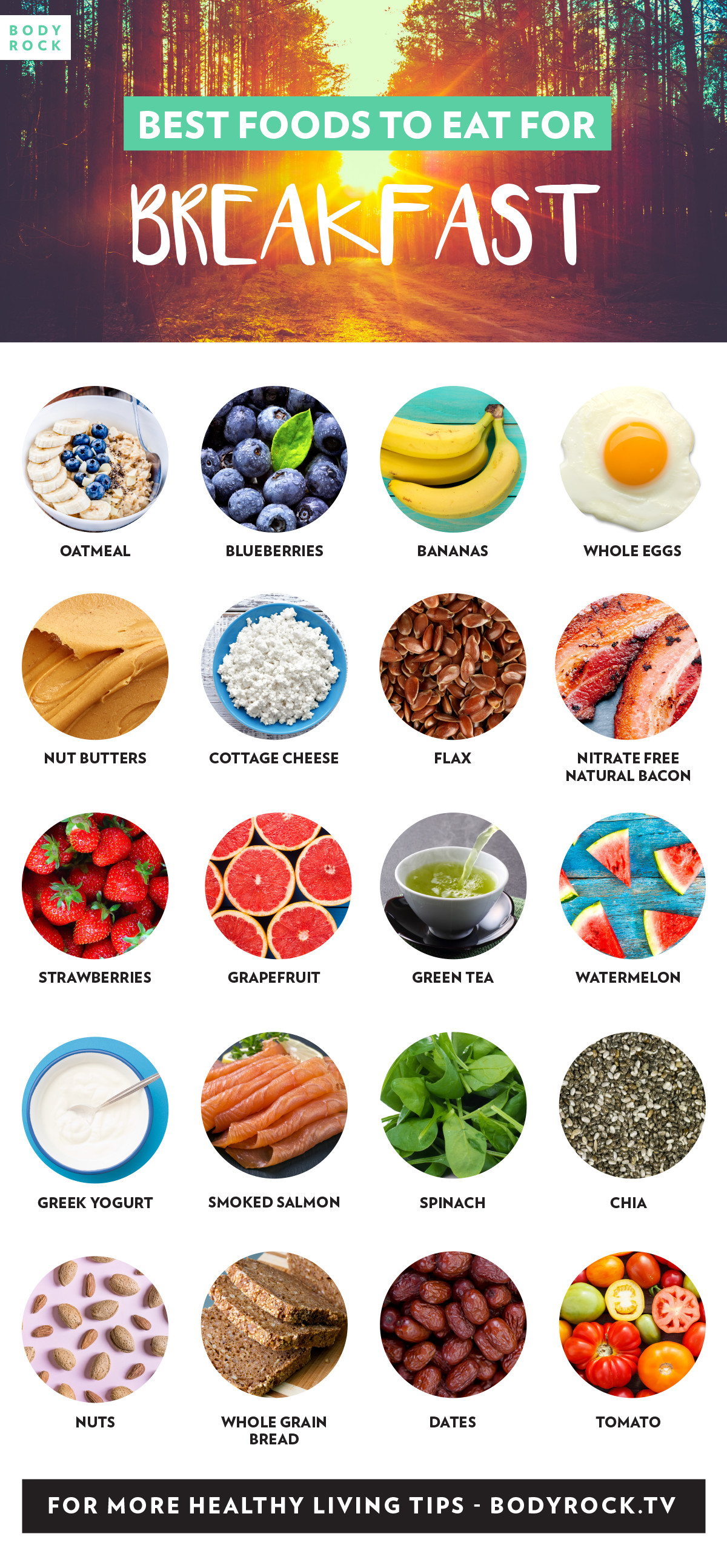 Healthy Foods To Eat For Breakfast  Best Foods To Eat For Breakfast