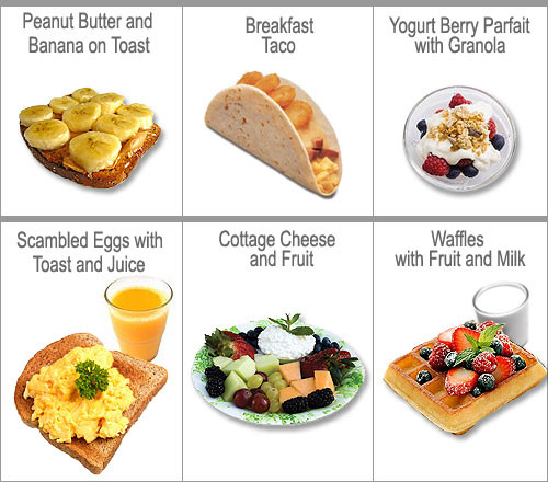 Healthy Foods To Eat For Breakfast  Breakfast