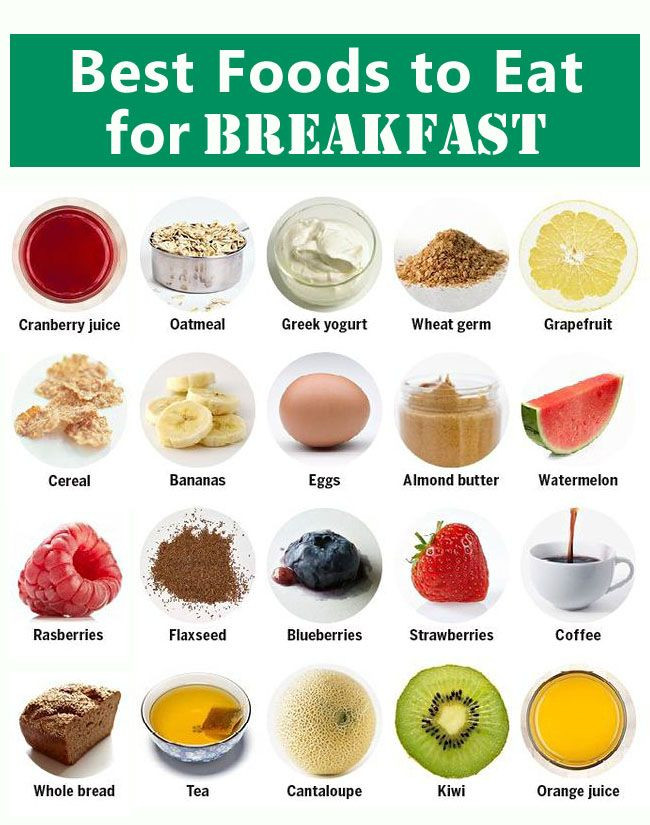 Healthy Foods To Eat For Breakfast  6 Breakfast Foods That Will Boost Your Weight Loss Plan