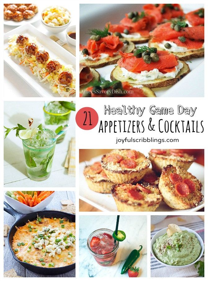 Healthy Football Appetizers  21 Healthy Game Day Appetizers & Cocktails JOYFUL